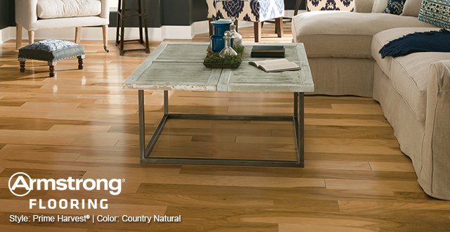 Armstrong Flooring Style: Prime Harvest® | Color: Country Natural