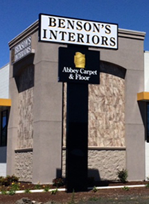 Benson's Interiors has moved. Our new address is 415 NE Circle Boulevard, Corvallis, OR 97330.